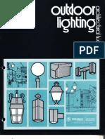 Benjamin Lighting Outdoor HID Lighting Brochure 1974