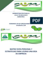 Analisi DOFA y Estrategias