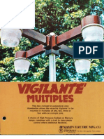 Benjamin Lighting Vigilante Multiples Brochure 1975