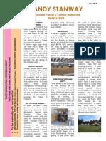 Sandy Nov 2012 Newsletter