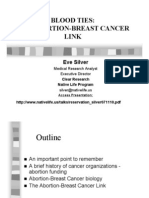 Abortion Breast Cancer Link