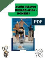 NATACIÓN RELEVOS COMBINADO 4X100