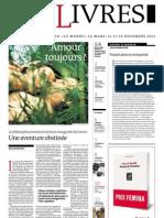 Supplément Le Monde des livres 2012.11.09