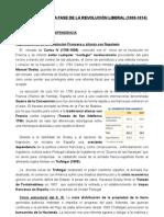 TEMA 2, LA PRIMERA FASE DE LA REVOLUCIÓN LIBERAL ( 1808-1814)