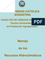 Presentación de la materia 2012
