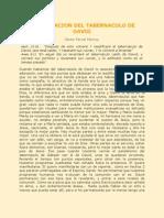 RESTAURACION DEL TABERNACULO DE DAVID