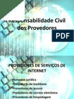 Responsabilidade Civil Dos Provedores e Ofensas Nas Redes Sociais