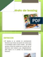 Contrato de Leasing y Joint Venture