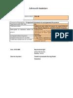 Model Proiect PAC