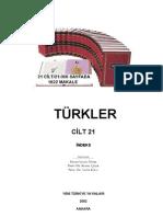 Türkler-Cilt-21 indeks (TÜRK TARiHi ÜZERiNE ÇALışMALAR VE GENEL DEĞERLENDiRMELER)