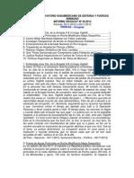 Informe Uruguay 36-2012