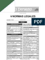 LEY DE LA CARRERA ESPECIAL PUBLICA PENITENCIARIA PERÚ
