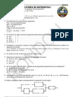 Balotario de Matematica I-2012
