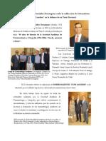 Reseña de Tesis Doctoral del Dr. Pedro Bernáldez Domínguez con fotos