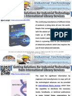 Getting Solutions for Industrial Technology from International Library Services