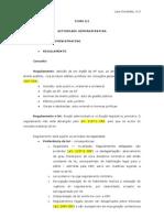 Regulamentos, Contratos e Contencioso