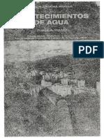 Abastecimiento de aguas y alcantarillados - Simón Arocha. Primera edición.Ediciones Vega