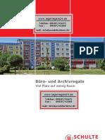 Archivregale-Büroregale-Ordneregale