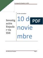 Investigación Enjaular via SSH