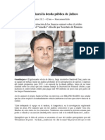 10-11-2012 Aristóteles analizará la deuda pública de Jalisco