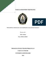 Copy of Tugas Makalah Konsep Teknologi