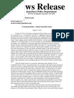News Release by Jonesboro PD 2pg