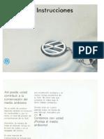 Manual de Usuario VW Golf MK3