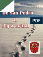 De San Pedro Al Papa Actual