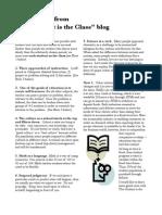 7 PDF Points NOV 2012 Fischler Seminar List of Interviews