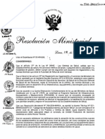 Norma 038 Para Proy Arquitectura Centro de Salud