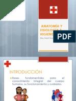I.ANATOMÍA Y FISIOLOGÍA E HIGIENE