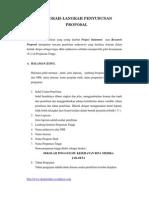 Langkah Langkah Penyusunan Proposal