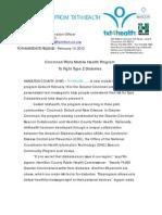 Txt4Health 2 Program Announcement