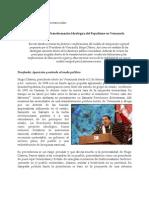 Hugo Chávez y la Transformación Ideológica del Populismo en Venezuela