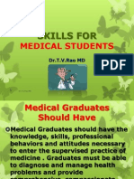 Skills for Medical Studetns