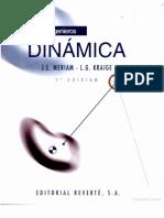 Mecánica para ingenieros, Dinamica - Meriam