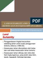 Presentasi No 5 7 Capability Dan Suitability