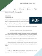 Analisis CVP. Akuntansi Manajemen