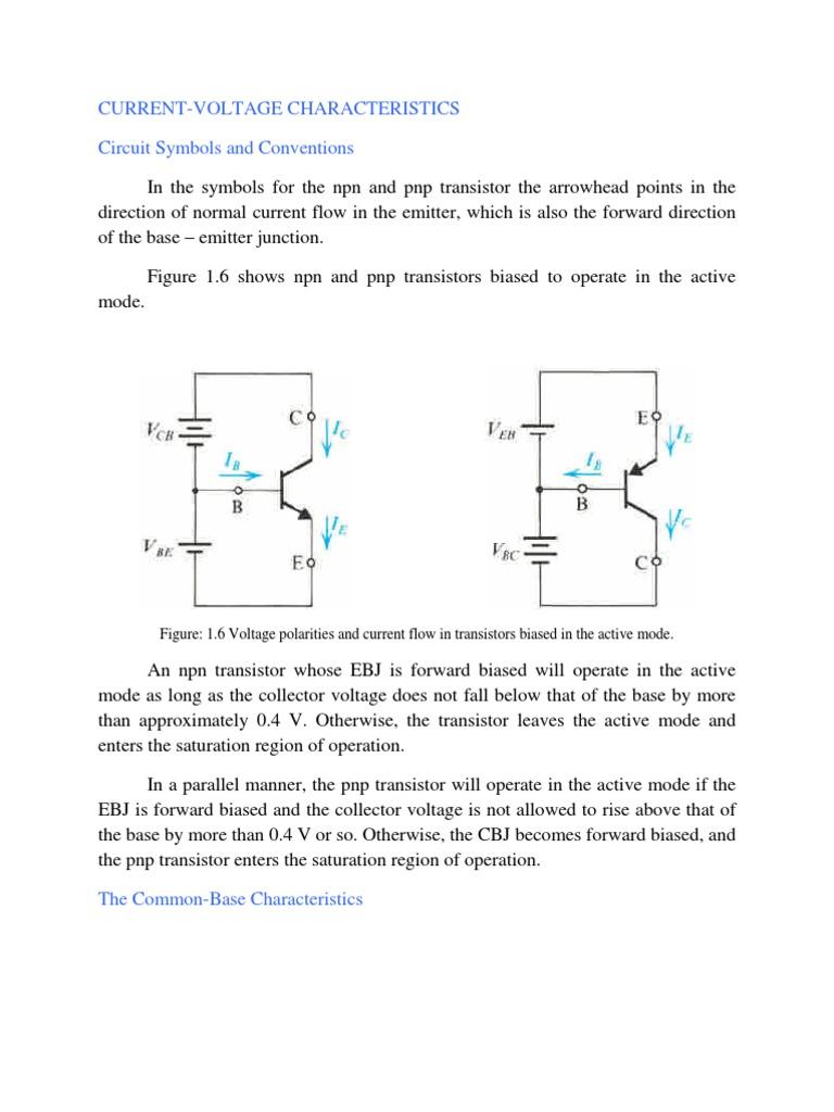 Transistors Notes 3 Bipolar Junction Transistor Pn Npn Wiring Diagram