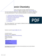 Tannin Chemistry
