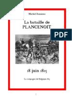 La bataille de Plancenoit