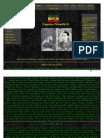 Emperor Menelik Primer