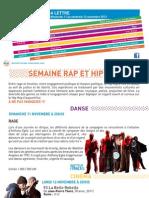 La Lettre de l'IFM Du 11 Au 16 Novembre 2012