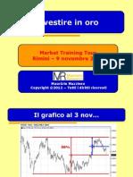 Investire in Oro - MTT Rimini