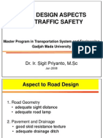 Road Design Aspect