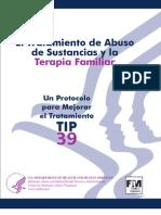 El Tratamiento de Abuso de Sustancias y Terapia Familiar