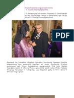 Baron Moushegh Karakashian - MESROB MASHDOTS Medal - OCT 14, 2012