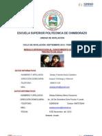 PROYECTO DE AULA DE INTRODUCCIÓN AL CONOCIMIENTO CIENTIFICO