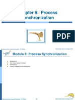 Process Synchronization and Deadlock