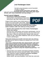 A 09 Poligami